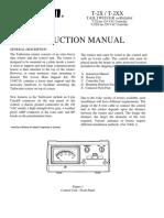 T-2XX Manual