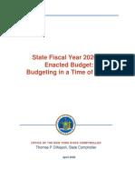 Enacted Budget Report 2020-21