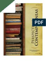 Perspectivas Contemporâneas - Ciências Sociais Aplicadas