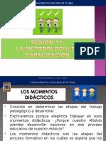 SESION 11  METODOLOGIA DE LA CAPACITACION
