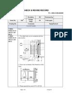 IFC CHECK & REVISE RECORD -CBD-CUC- E02-AR-001