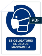 AVISO MASCARILLA