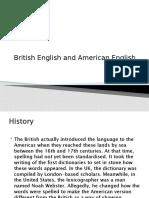 British English and American English.pptx