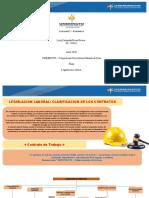 Actividad 3 - Cartilla digital sobre legislación laboral entrega 2, clasificación de los contratos