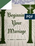 Beginning Your Marriage - Thomas, John Lawrence, S.J._6034