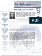 Six Sigma in Healthcare Value Chain