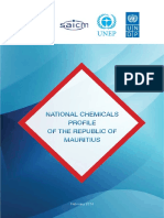 Mauritius National Chemicals Profile