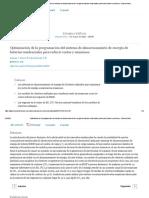 Optimización de la programación del sistema de almacenamiento de energía de baterías residenciales para reducir costos y emisiones - ScienceDirect