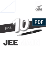 Super 10 Mock Tests for JEE Mai - Disha Experts.pdf