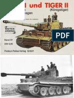 WAFFEN-Tiger I und II by Horst Scheibert
