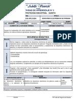 ACTIVIDAD DE APRENDIZAJE N° 2 DISPOSITIVOS ELECTRÓNICOS DE POTENCIA