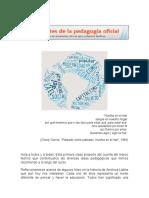 Curso INFoD; Pensamiento pedagógico LA; Clase 1 - Fuentes de la Pedagogñia Oficial