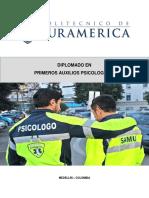 UNIDAD DIDÁCTICA 2.PSICOLOGIA DE LA EMERGENCIA