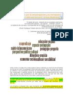 Curso INFoD; Pensamiento pedagógico LA; Clase 2 - Las luchas por la emancipación y la formación del sujeto latinamericano