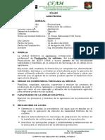 Silabo - Agrotecnia Seme II 2020