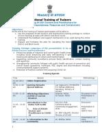COVID-National ToT Agenda-AYUSH