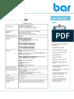 Data Sheet GT 8 Series e