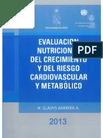 Evaluación Nutricional del Crecimiento y del Riesgo Cardiovascular y Metabólico 2013 - Barrera, M.Gladys.pdf