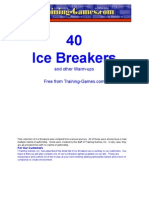 Free Ice Breakers, games, business,