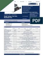 TDK Lambda ZWS150AF 12 Datasheet
