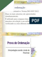 Teste de ordenação - Norma ISO 8587 de 2012