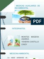 CIENCIAS MEDICAS AUXILIARES DE LA MEDICINA AMBIENTAL