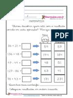atividades-de-matemática-adição-subtração- números-naturais-ordem-crescente- 3º-ano