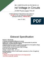 IGCSE-23-Current&VoltageInCircuits.ppt