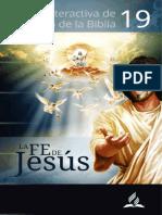 19 ESTUDIO BIBLICO - LA FE DE JESUS