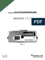 Fresenius_Master_PCA_-_Gebrauchsanweisung