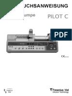 Fresenius_Pilot_C_-_Gebrauchsanweisung