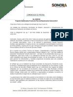 18-04-20 Propone Gobernadora Pavlovich Plan de Reactivación Sonora 20-21