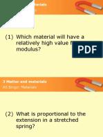 3 Matter & materials Bingo
