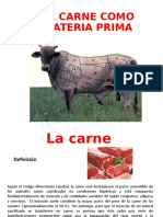 La carne Materia prima 2017