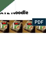 Noodle mktg research