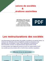 Support  de Restructuration de sociétés FC.ppt
