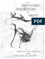 Rhythmic Structure of Music
