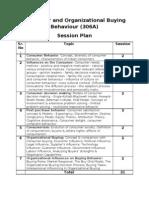 COOB - Session Plan