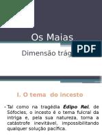 Dimensão Trágica - Os Maias
