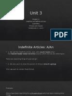 Unit 3 Conditionals