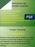 FISIOPATOLOGIA DEL INTERCAMBIO GASEOSO