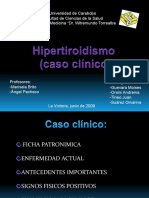 Hipertiroidismo caso clinico