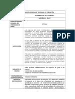 A1.1- Diseño curricular para Inglés
