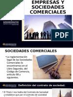 EMPRESAS Y SOCIEDADES COMERCIALES act