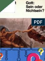 Gott - Sein oder Nichtsein?