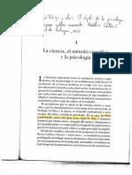 Lopera y otros, 2010 La ciencia, el método científico y la psicología