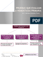 3. PRUEBAS QUE EVALUAN LA HEMOSTASIA PRIMARIA.pptx