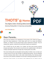 THOTS Fun At Home Activities - Part 2