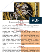 23 de abril. San Jorge, mártir