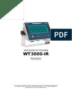 WT3000-iR Manual técnico POR